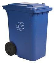 Collecte bac bleu - Matières recyclables