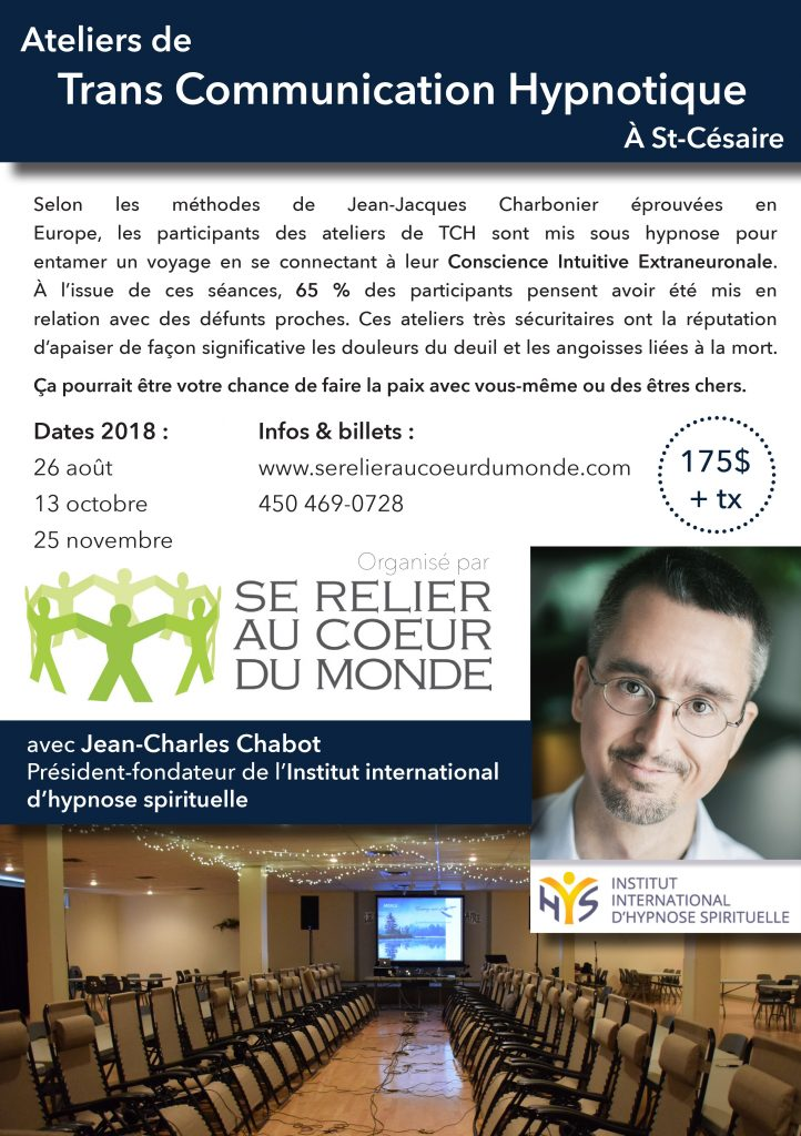 Atelier TCH avec Jean-Charles Chabot