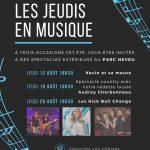 Jeudi en musique @ Parc de la rue Neveu